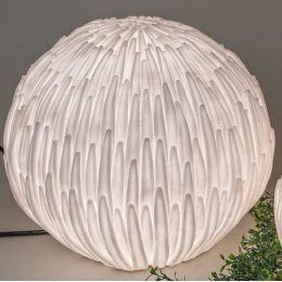 formano Gartenlampe Blüte aus Fiberglas 36 cm