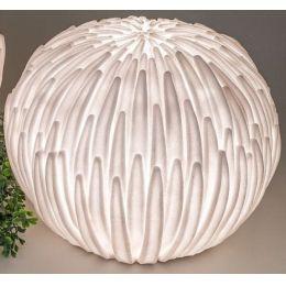 formano Gartenlampe Blüte aus Fiberglas, 30 cm