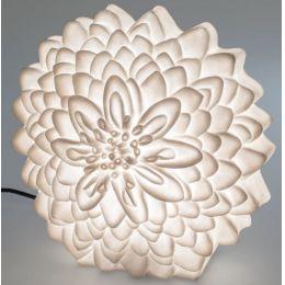 formano Gartenlampe Dahlie aus Fiberglas, 38 cm