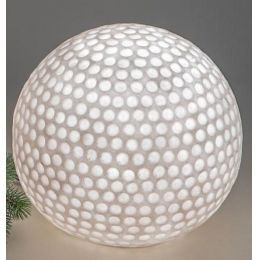formano Gartenlampe Kugel aus Fiberglas, 26 cm