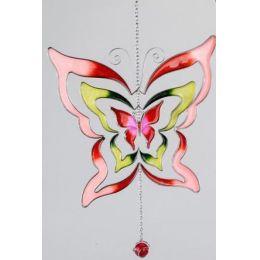 formano Hängedeko Schmetterling, rot, 24 cm
