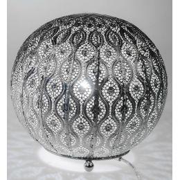 formano Kugellampe Capri Silber, 25 cm