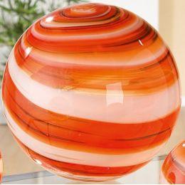 GILDE Deko Kugel aus mundgeblasenem Glas, 15 cm