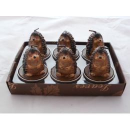 Igel - Teelichter im 6er Set