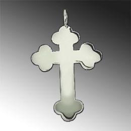 Ketten-Anhänger Orthodoxes Kreuz - 925 Silber