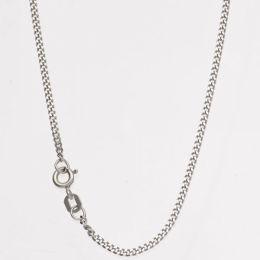 Rundankerkette 585 Palladium rhodiniert 45 cm - 1,7 mm Halskette