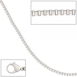Venezianerkette Edelstahl 60 cm Halskette Karabiner