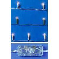 10 er Lichterkette linear mit Schalter, transparent