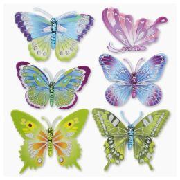 3 D Sticker Schmetterling XXL 30x30 cm