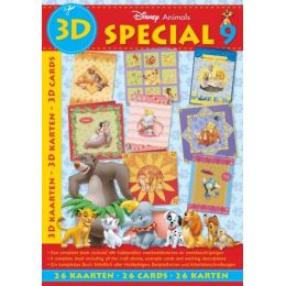 3D Buch Disney Animals Nr 9