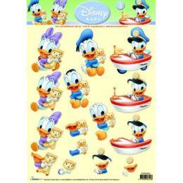 3D Stanzbogen Disney Baby