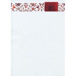 5x A4 Rose Ornamente Designpapier