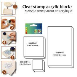 Acrylblock 5x5 cm