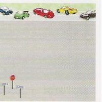 Auto, Designpapier Scrapbook 30,5 x 30,5 cm