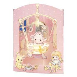Baby Mädchen Swing Card