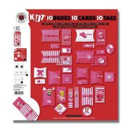 Bastel-Set Boxen, Karten und Anhänger, für je 10 Stück