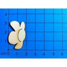 Blüte seitlich 160mm