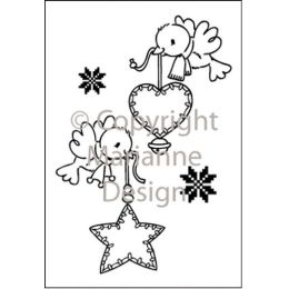 Clearstamp Eline s clear flying decoration