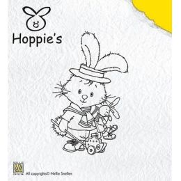 Clearstamp Hoppie´s Hase kleiner Matrose