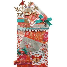 Craftables Border - stitch Marianne Design