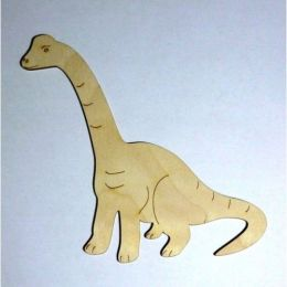 DINOSAURIER Diplodocus aus Holz