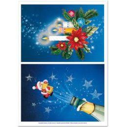 Dufex Motivbogen Metallgravur für LED-Karten