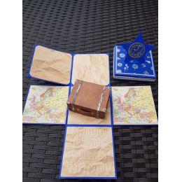 Explosionsbox - Reise freie Farbauswahl, handgearbeitet incl. Koffer
