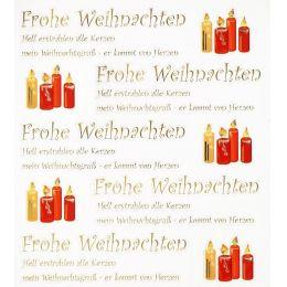 Filistyle-Stickers Frohe Weihnachten 2