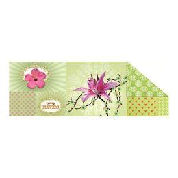 Fotokarton Patchwork, 49,5x68 cm MOTIV 4 Blumen