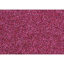 Glitter-Bügelfolie rosa