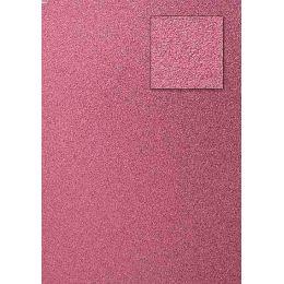 Glitterkarton, alt rosa