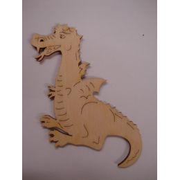 Holz Kleinteile gelasert Drachen