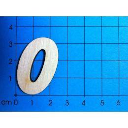 Holz Kleinteile Zahlen 33MM