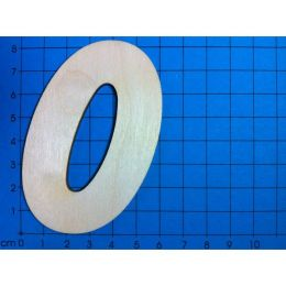 Holz Kleinteile Zahlen 80MM