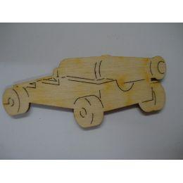 Holz Schiffskanone in unterschiedlichen Größen