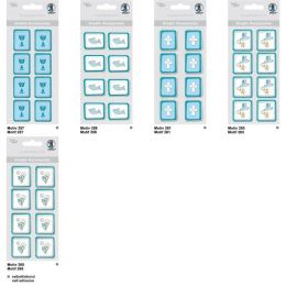 Kreativ Sticker Taube Serie  Glory, petrol, selbstklebend