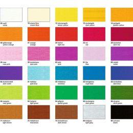 Krepp-Papier 32g/m², 250 x 50 cm BASTELKREPP in vielen Farben auch gold und silber