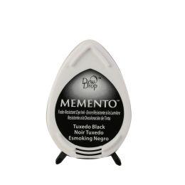 Memento ink pad dew drop tuxedo black
