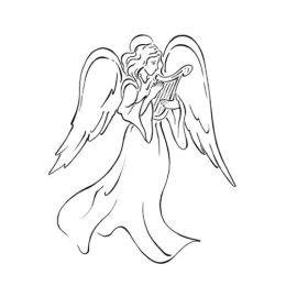 Motivstempel Engel