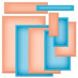 Nestabilities Card Creator S5-132  A-2 Matting Basics