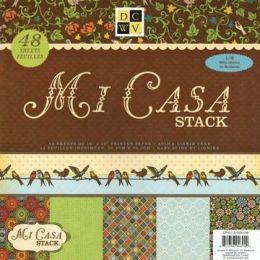 Paper stack Mi casa 30,5X30,5 cm 48 Bogen