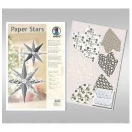 Paper Stars in silber Silver Charm