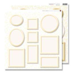 Scrapbook Bilderrahmen creme 30,5x30,5