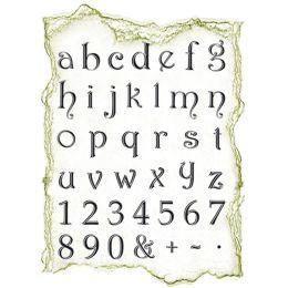 Silikon Stempel von Viva Decor 2012 , Kleines Alphabet