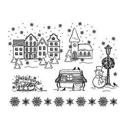 Silikon Stempel von Viva Decor 2013 Weihnachtsstadt
