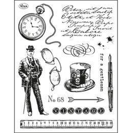 Silikon Stempel von Viva Decor 2014 Gentleman