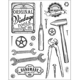 Silikon Stempel von Viva Decor 2014 Vintage Tools