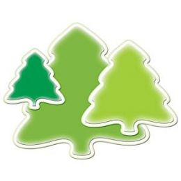 Spellbinders 6 Stanzformen Shapeabilities 2010 Christmas Holiday Tree S4-284