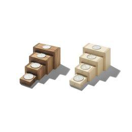 Adventsleuchter 4Steps aus Holz