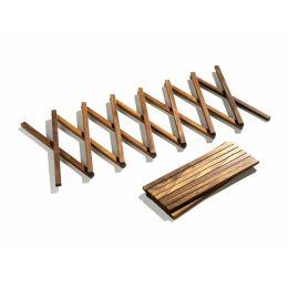 Ausziehbarer Untersetzer aus Holz für Töpfe und Pfannen